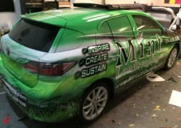 Mercedes Benz of Northlake: Partial Wrap