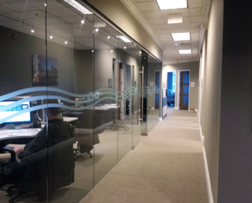 Frosted Glass Office Windows